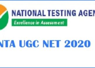 NTA UGC NET Recruitment 2020