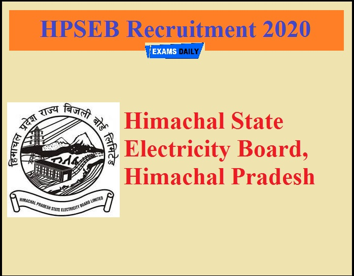 HPSEB Recruitment 2020