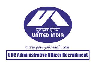 UIIC AO Recruitment 2020