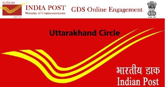 Uttarakhand Circle GDS Recruitment 2020