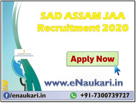 SAD-ASSAM-JAA-Recruitment-2020.