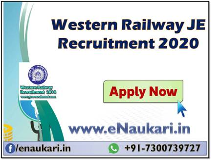 Western-Railway-JE-Recruitment-2020