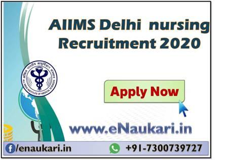 AIIMS-Delhi-Nursing-Recruitment-2020