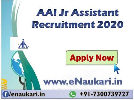 AAI-Jr-Assistant-Recruitment-2020