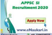 APPSC-SI-Recruitment-2020