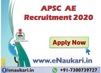APSC-AE-Recuitment-2020