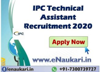 IPC-Technical-Assistant-Recruitment-2020
