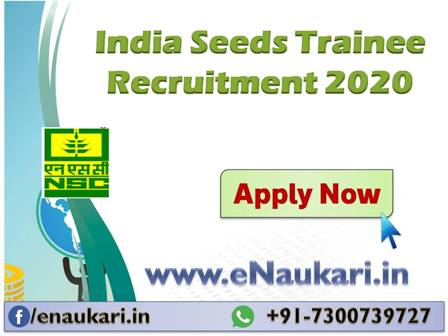 India-Seeds-Trainee-Recruitment-2020