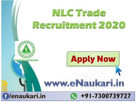 NLC Trade Apprentice Recruitment 2020