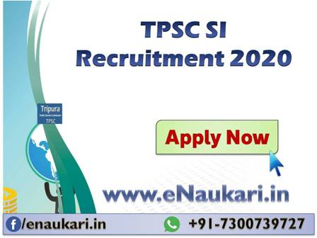 TPSC-SI-Recruitment-2020