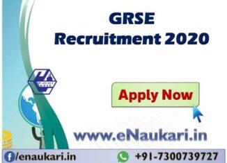 GRSE-Recruitment-2020