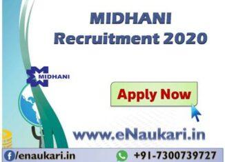 MIDHANI-Recruitment-2020.