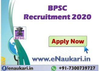 BPSC-Recruitment-2020