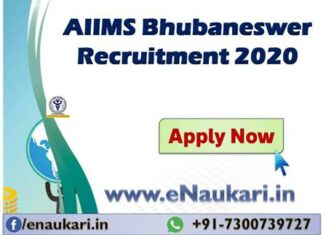 AIIMS-Bhubaneswer-Recruitment-2020