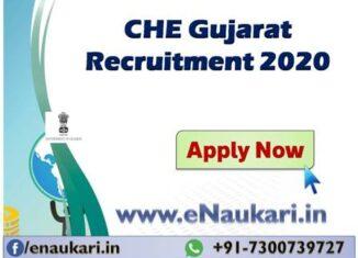 CHE-Gujarat-Recruitment-2020