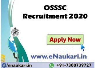 OSSSC-Recruitment-2020