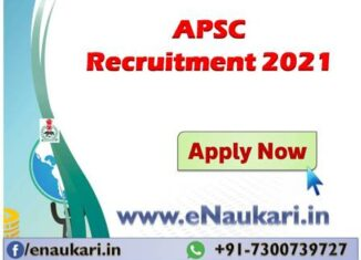 APSC-Recruitment-2021