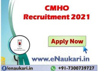 CMHO-Karauli-Recruitment-2021.