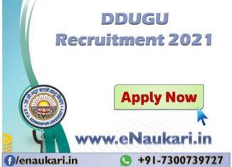 DDUGU-Recruitment-2021