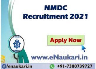 NMDC-Recruitment-2021