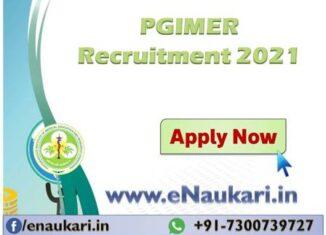 PGIMER-Recruitment-2021