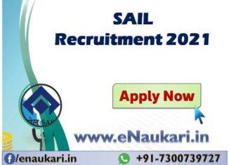 SAIL-Recruitment-2021.