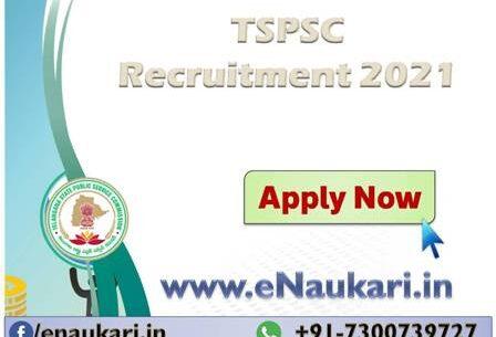 TSPSC-Recruitment-2021